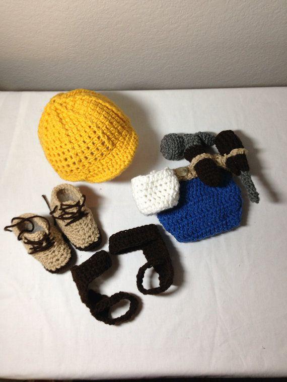 Crochet NB through 12 mos electrical lineman by CrochetbyDestinee