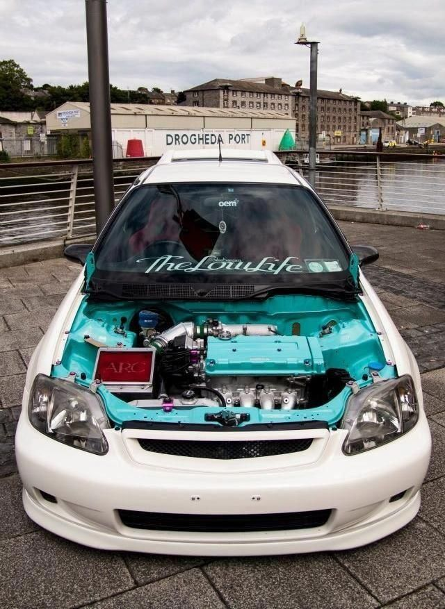 Honda Auto – gutes Bild – darius russell