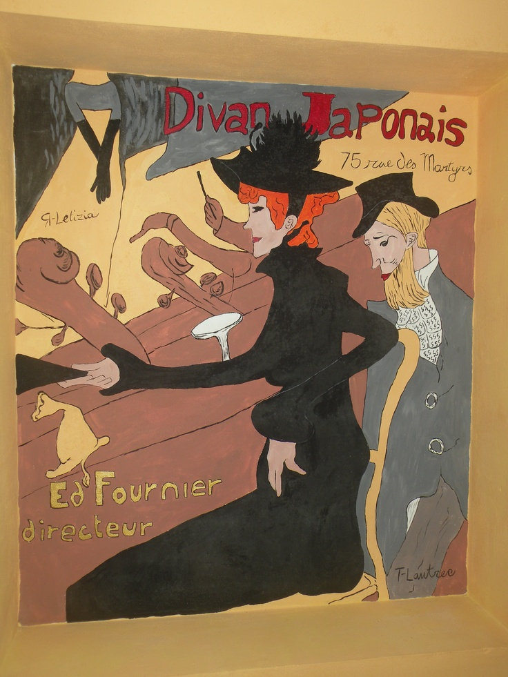 T-Lautrec wall painting - REVISITED
