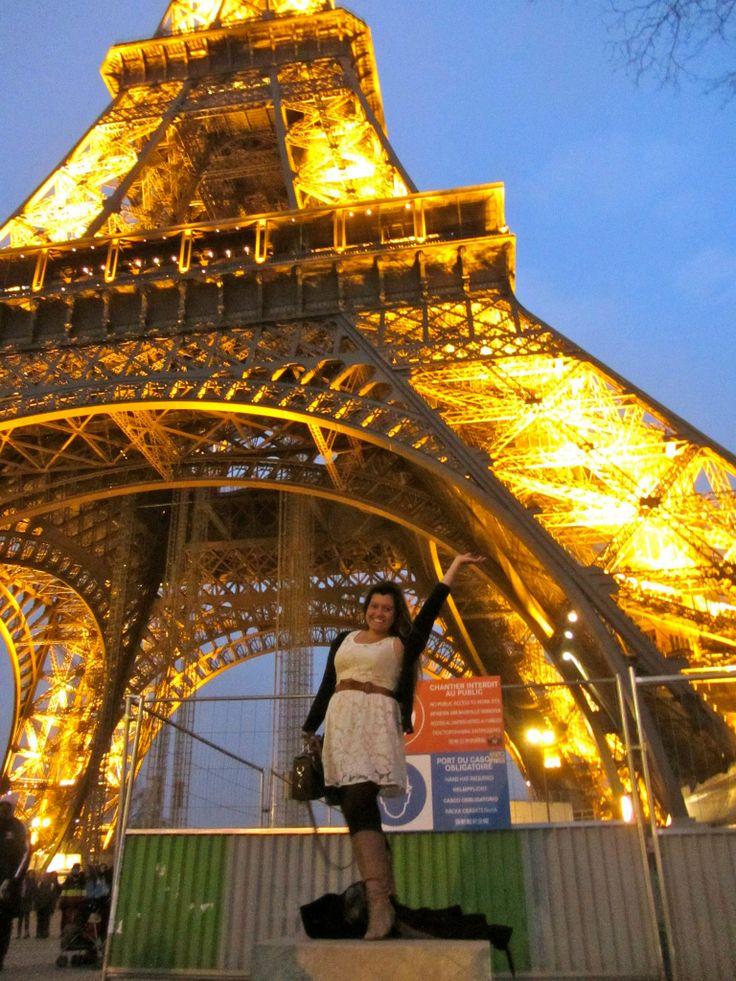 Mints à la Tour Eiffel!