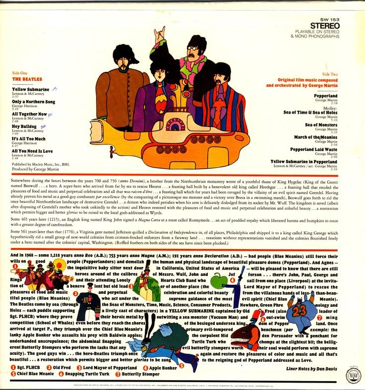 The Beatles Yellow Submarine Music The Beatles 2 2 Pinterest Submarines The Beatles