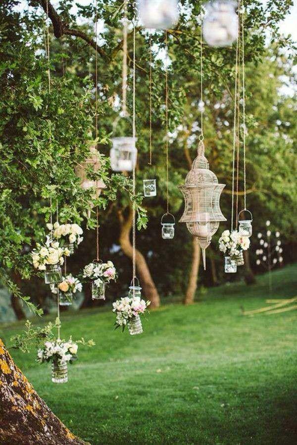 organisation mariage en plein air: idées originales de décoration