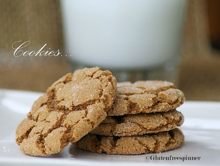 Molasses Ginger Cookies – Frosted for the Holiday | Gluten Free Spinner