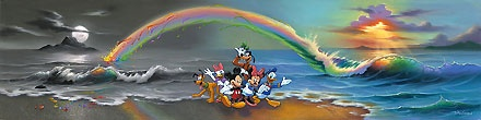Mickey Mouse - Walt's Wonderful World of Color - Jim Warren - World-Wide-Art.com - $695.00