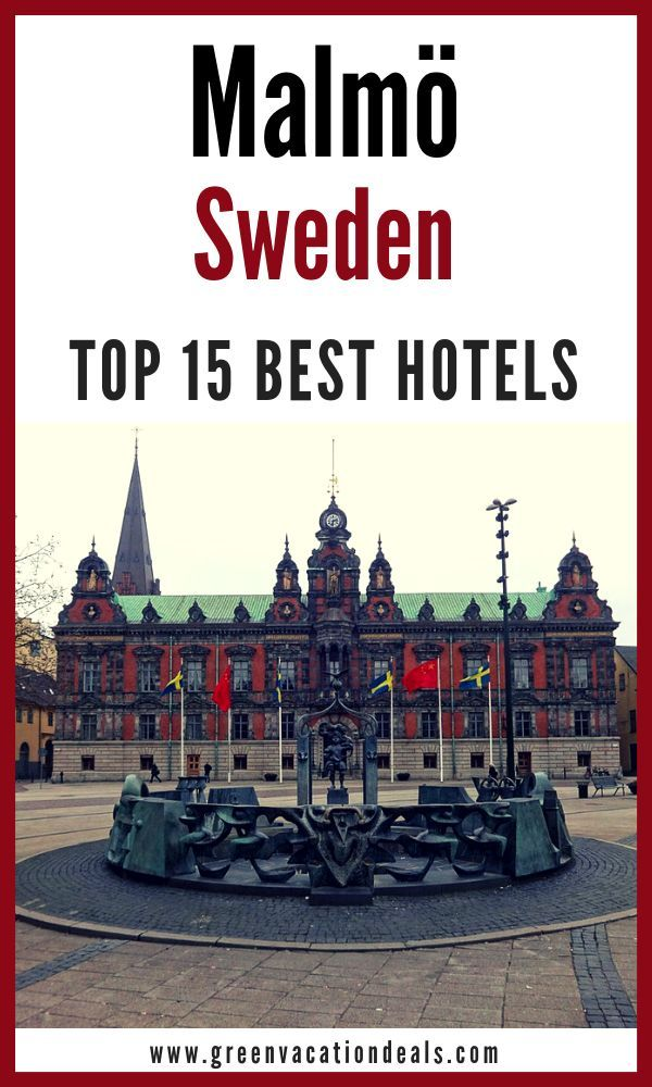 Top 15 Best Malmo Sweden Hotels Sweden Travel Vacation