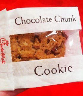 homemade chick fil a chocolate chunk cookie recipe