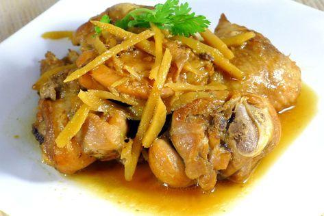 Recipe: Gà kho gừng – Ginger chicken – Danang Cuisine