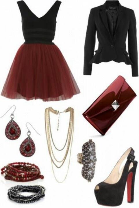 outfit para la cena de Navidad!!!: