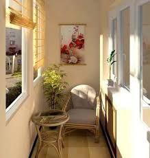 Resultado de imagem para pequenas varandas fechadas decoradas