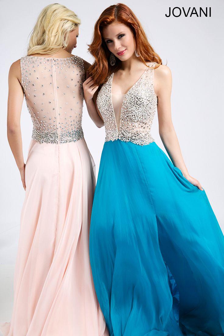 Sleeveless Chiffon Dress 98242 - Prom Dresses | JOVANI | Pinterest ...