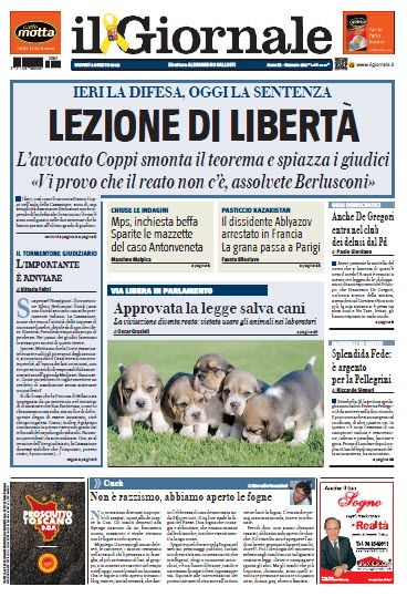 Il Giornale - 01.08.2013  Italian | True PDF | 32 Pages | 19 MB