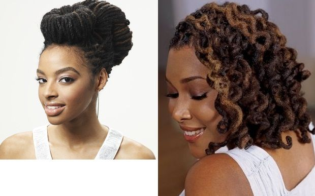Dreadlock hairstyles love the two buns updo for wedding hair Love Your Locs at DreadStop.Com - Follow us @DreadStop, +dreadstop #dreadlocks