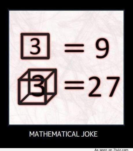 Chiste matemático...