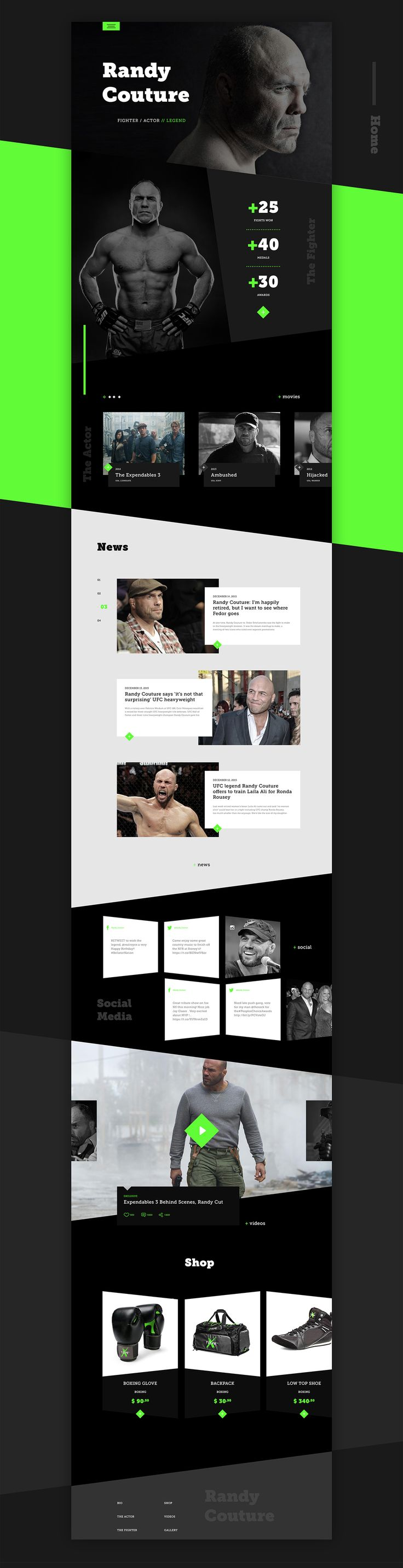 Randy Couture is a living legend. He's an MMA World Champion and a member of the UFC Hall of Fame. Like us, he was considered to be the underdog, but nothing could keep him down for long. Having dominated the mixed martial art scene as a champion in two d…
