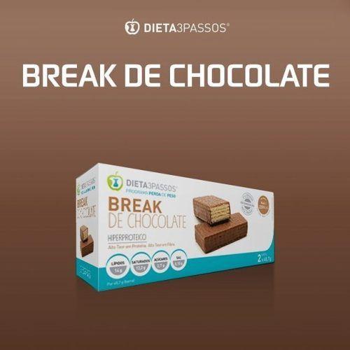 Já conhece o nosso snack DIETA3PASSOS® Break de chocolate?  Ideal para um lanche doce sem culpa ou como snack pré-treino. Adquira-o na nossa Concept Store.  Não hesite e marque a sua consulta hoje por mensagem privada  ou através do 253 413 070 | 932...