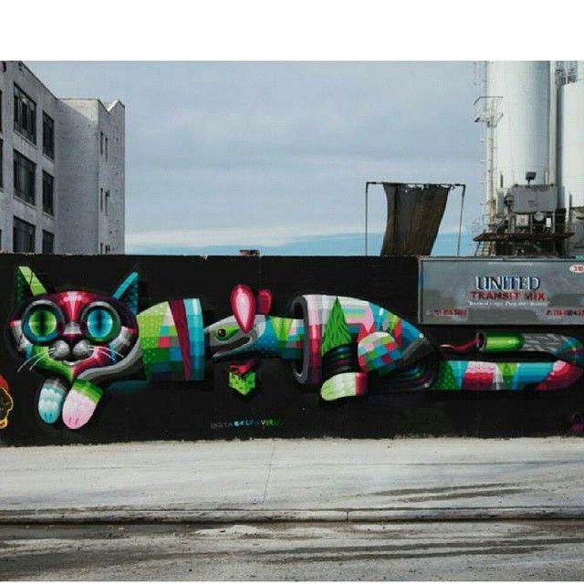 """by Eelco """"Virus"""" van den Berg - Bushwick, Brooklyn, NY (LP)"""