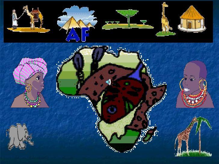 África para niños by Maria Teresa del Río via slideshare