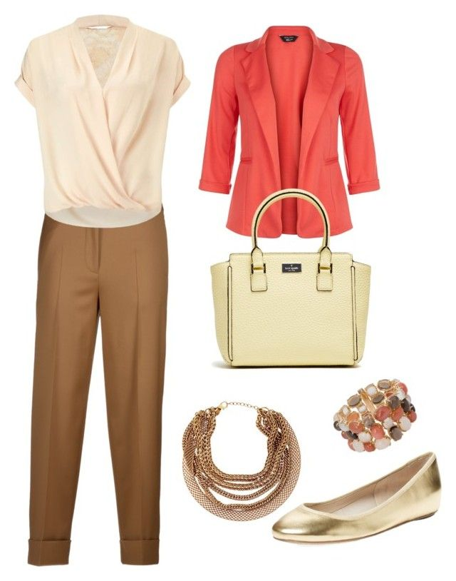 Earth colours by stylebyeliana on Polyvore featuring Miss Selfridge, New Look, Incotex, Elorie, Roberto Cavalli and HELLMUTH