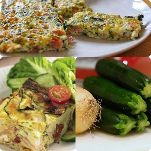 Una ricetta veloce da preparare che vi consigliamo per la pausa pranzo alavoro, o a casa quando si ha poco tempo, è la frittata con zucchine, prosciutto c