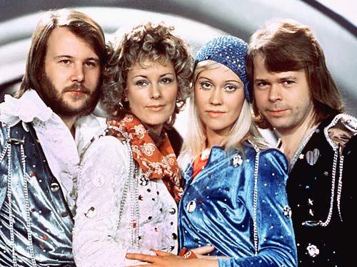 ABBA (Benny Andersson, Anni-Frid Lyngstad, Agnetha Fältskog, Björn Ulvaeus)