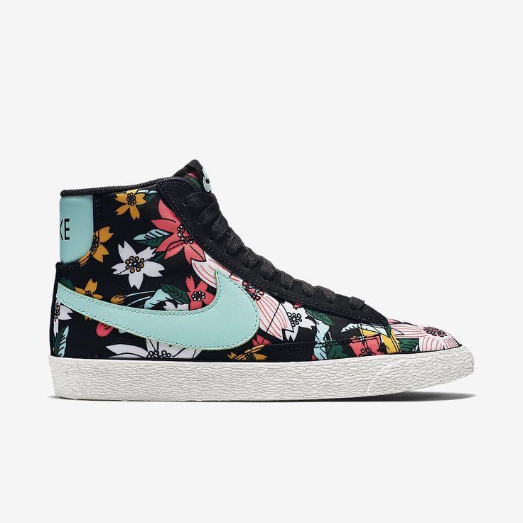 Nike Blazer Mid Textile Print Women S Shoe Cycling Shoes Women Adidas Shoes Women Trendy Womens Shoes