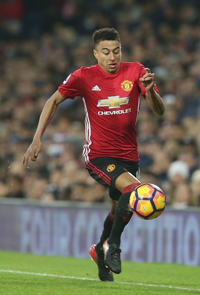 Jesse Lingard of Manchester United in action during the Premier League match between West Bromwich Albion and Manchester United at The Hawthorns on.... he always injects such pace, energy and passion. On of my favorites.