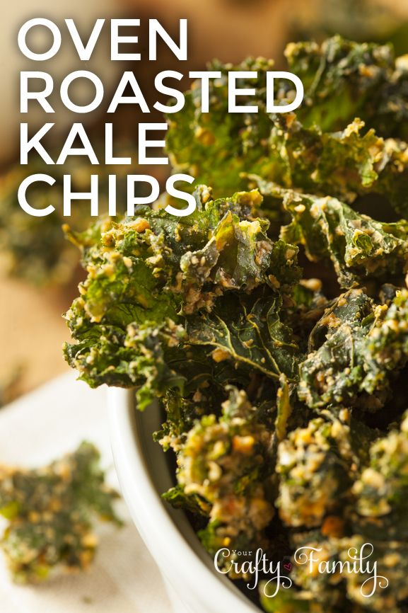 How to make the very best kale chips - even kids will eat these!