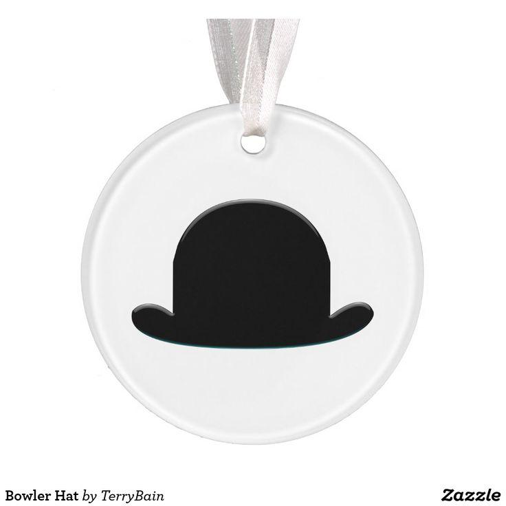 Bowler Hat Ornament