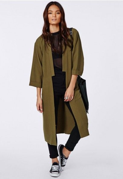 We are all over this coat from MISSGUIDED, perfect colour, perfect length, perfect sleeve, perfect lapel. Amazing price.