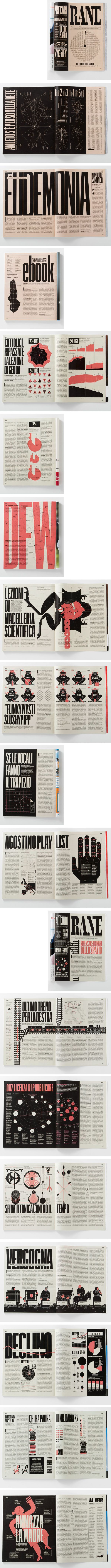 Magazine Inspiration -colours and type (RANE)