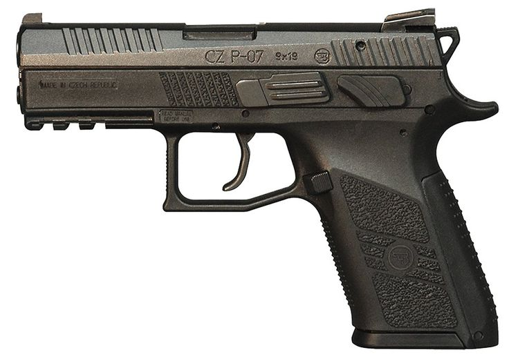 The CZ P-07 is the updated version of the CZ 75 P-07 Duty. The debut of the full-size P-09 last year brought refined lines and interchangeable backstraps to our polymer Omega line. This year the