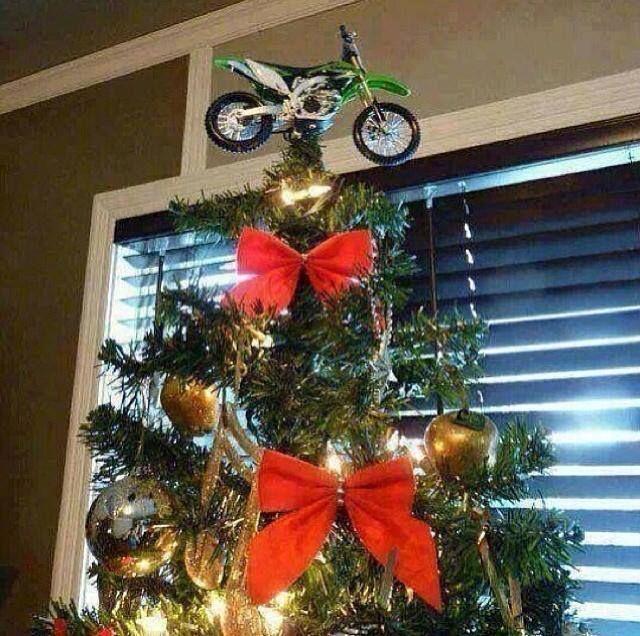 Do you like this tree topper? http://www.megamotormadness.com/product/dir019-49cc-dirt-bike