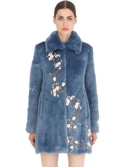 FUR & SHEARLING - AINEA - LUISAVIAROMA.COM - WOMEN'S CLOTHING - FALL WINTER 2016 - LUISAVIAROMA.COM