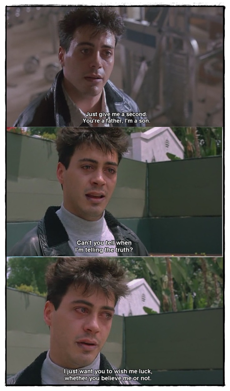 Less than Zero (1987)  This movie is amazing and painful to watch.  RDJ was so good in it that I had to watch something funny afterwards just to get the weight off my chest.