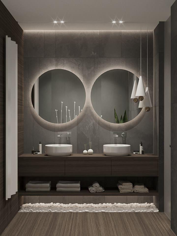 Elegantes und luxuriöses Badezimmerdesign für ein einzigartiges Dekor. Mehr sehen Sie, indem Sie auf das Bild klicken. #salledebain #salledebainins