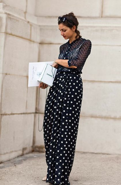 :: polka/polka ::: Fashion Shoes, Polka Dots, Fashion Models, Street Style, Girls Fashion, Bridal Parties, The Sartorialist, Girls Shoes, Maxi Skirts