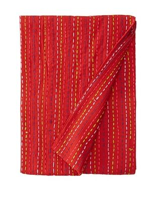 Solid Kantha (Red)
