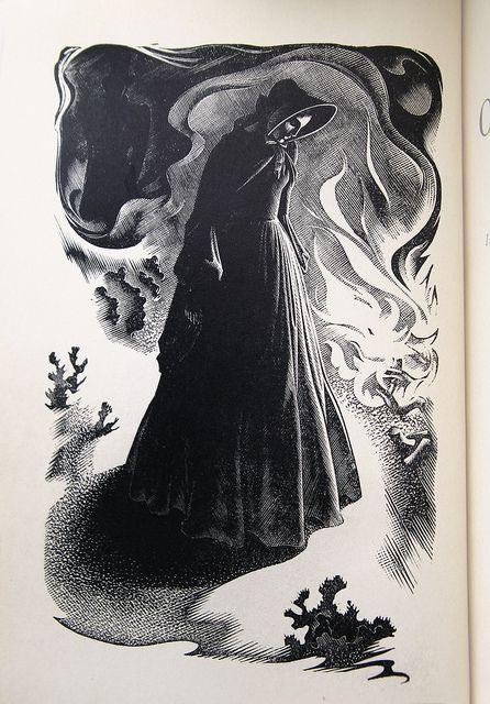 "Agnes Miller Parker - Wood Engraving for ""The Return of The Native"""