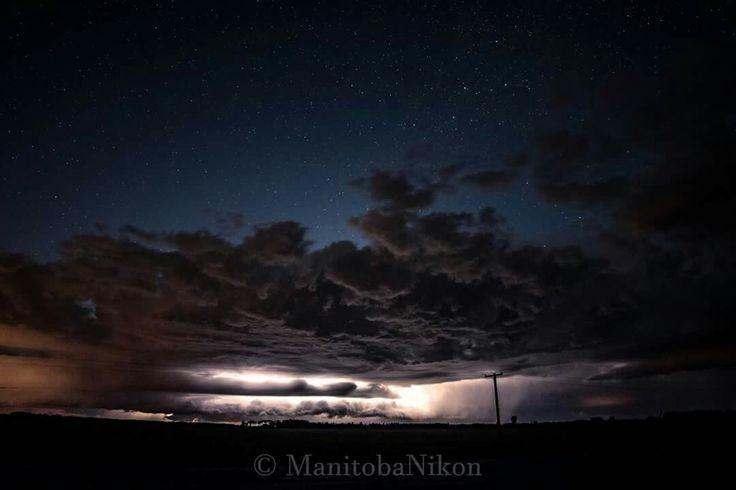 Awesome Thunderstorm  Manitoba