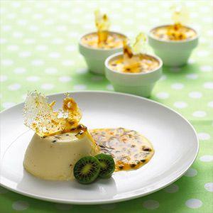 Crème Fraîche Passionfruit Pannacotta