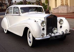 1951 Rolls-Royce Wraith Wedding Car