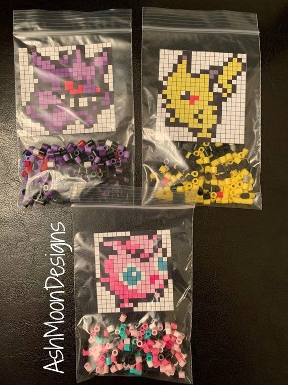 Pin By Ashley Mooneyhan On Pixel Art In 2020 Pokemon Perler Beads Diy Beads Pokemon Bead