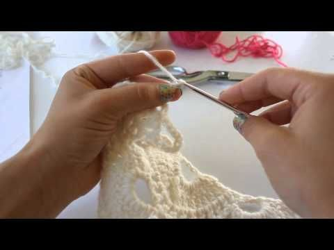 Learn how to crochet this amazing Yes, Yes Shawl. This tutorial shows you how to follow the crochet diagram and make this shawl. This incredible design is by...