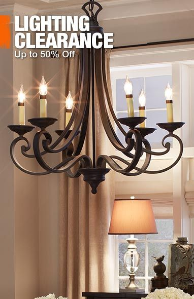 Love this wrought iron chandelier!