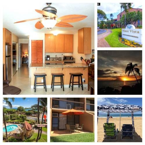 Maui Vista 2109 Kihei (Maui, Hawaii) Located 48 km from Hana, Maui Vista 2109 offers accommodation in Kihei. The property boasts views of the pool is 21 km from Paia. Free WiFi is available and free private parking is available on site.