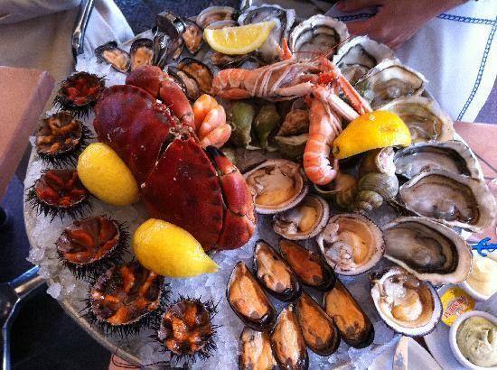1000 images about les 10 plus belles assiettes de fruit de mer on pinterest traditional. Black Bedroom Furniture Sets. Home Design Ideas