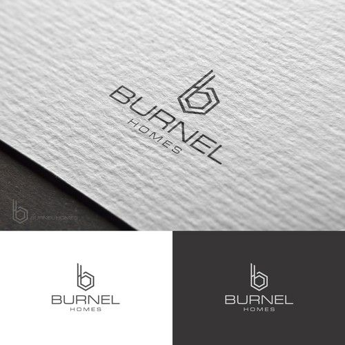 Burnel Homes Logo For A Family Real Estate Business That We Can