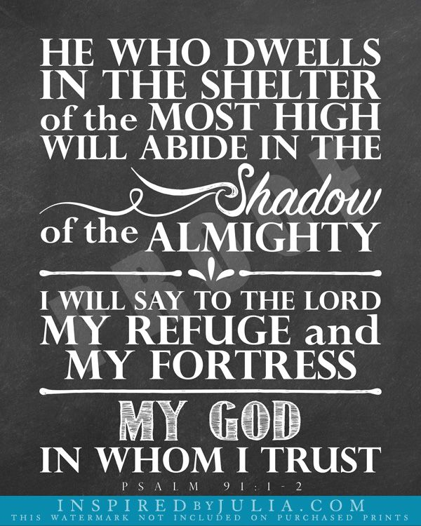 Psalm 91 – Daily Motivational Quotes