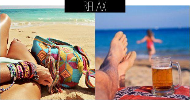 Ideias de fotos para tirar na praia relax