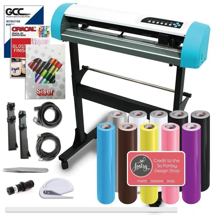 Gcc Ar 24 Inch Craft Vinyl Cutter Creative Bundle With Stand Swing Design With Images Creative Crafts Vinyl Crafts Vinyl Cutter